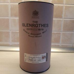 Glenrothes 1979 Single Speyside Malt – Original bottling – b. 1995 – 70cl