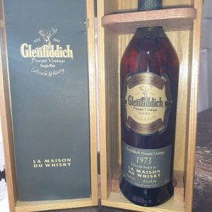 Glenfiddich 1973 34 years old Cask no. 28563 – for LMDW – Original bottling – 70cl