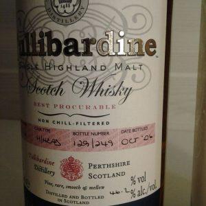 Tullibardine 1973 – One of 249 – Original bottling – b. 2006 – 700ml