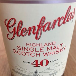Glenfarclas 40 years old – Original bottling – 700ml
