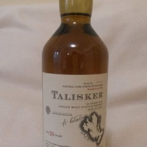 Talisker 1982 20 years old – Original bottling – b. 2003 – 70cl