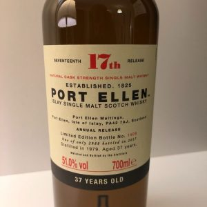 Port Ellen 1979 37 years old 17th Release – Original bottling – b. 2017 – 700ml