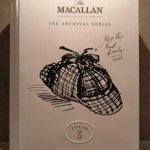 Macallan The Archival Series Folio 5 Single Malt Whisky – Original bottling – 70cl