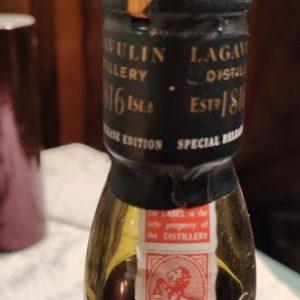 Lagavulin 1991 Distillers Edition – Original bottling – b. 2007 – 1.0 Litre