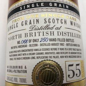 North British 1962 55 years old – Douglas Laing – 700ml – 68 bottles