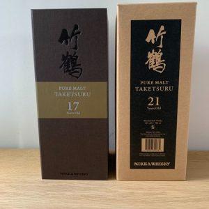 Taketsuru 17 & 21 years old – 70cl – 2 bottles
