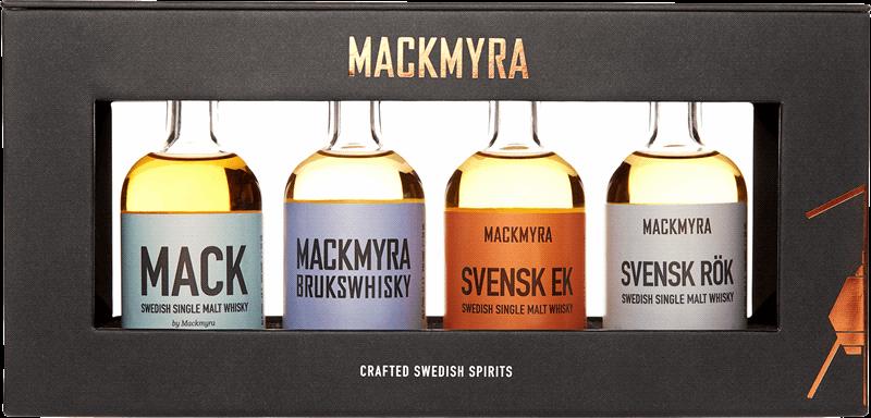 Whiskeyprovning med Mackmyra