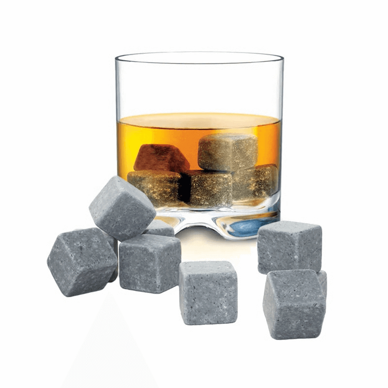 Wiskeystenar Whisky on the rocks